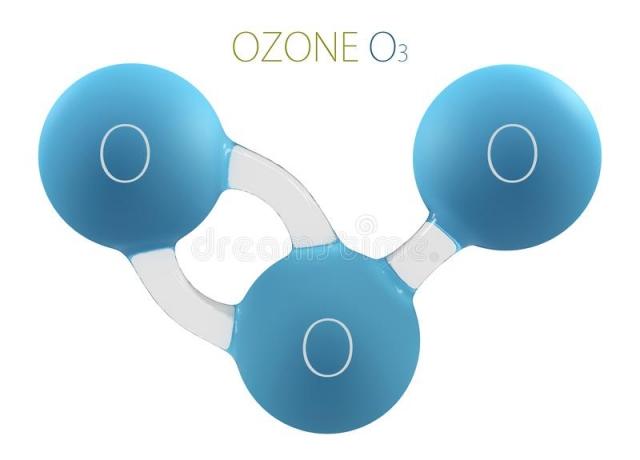 Ózon molekula